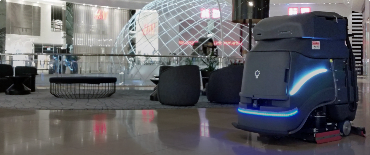 The Neo automated cleaning robot