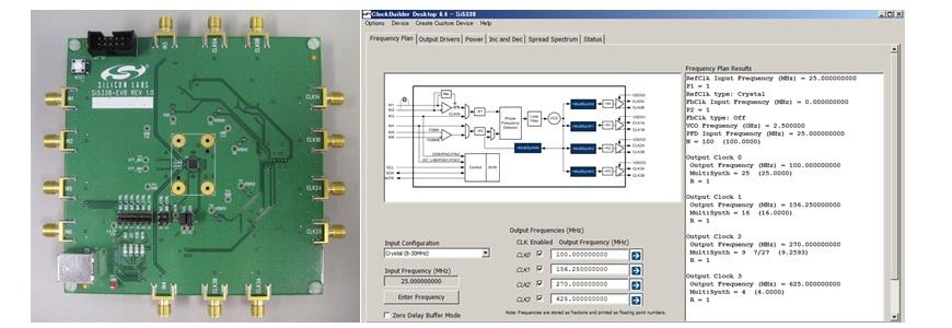 使いやすい設計サポートツール ~高精度クロックジェネレータ Si5338~の画像