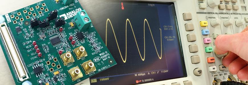 数Hz 刻みでの周波数変更が可能なダイレクト・デジタル・シンセサイザ(DDS) その2の画像