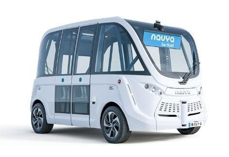 NAVYA - モビリティソリューション - マクニカ