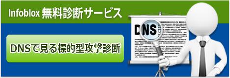 Infoblox 無料診断サービス DNSで見る標的型攻撃診断