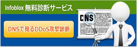 Infoblox 無料診断サービス DNSで見るDDos攻撃診断
